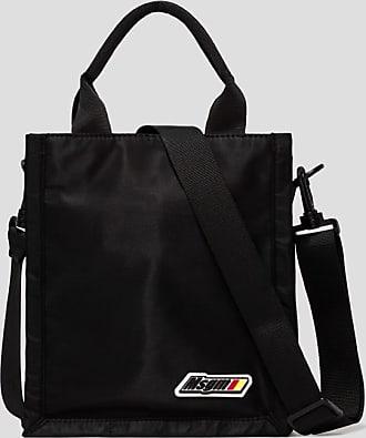 Msgm embroidery logo small shoppper bag