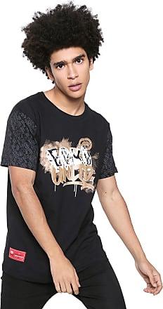 Ecko Camiseta Ecko Estampada Preta