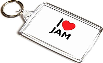 ILoveGifts KEYRING - I Love Jam - Novelty Food & Drink Gift