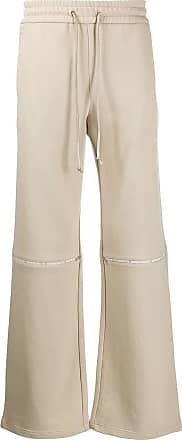 WWWM - What We Wear Matters Calça pantalona com ajuste no cós - Neutro