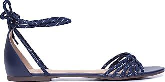 Anacapri Sandália Nó Frontal - Azul