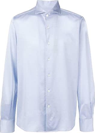 Canali Camisa slim - Azul