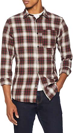 JACK /& JONES Jorchris Shirt LS One Pocket Camicia Uomo