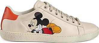 Gucci Tênis Mickey Mouse Gucci x Disney - Branco