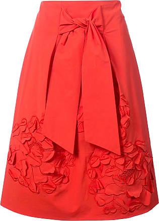 Natori Saia com bordado - Vermelho