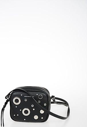 Alexander McQueen Studded Leather Mini Shoulder Bag Größe Unica
