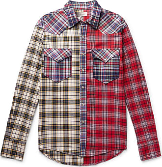 Isabel Marant Billy Checked Brushed Cotton-flannel Western Shirt - Multi