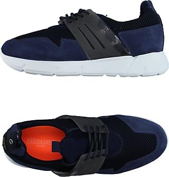 Blauer SCHUHE - Low Sneakers & Tennisschuhe auf YOOX.COM