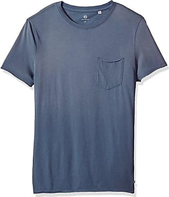 AG - Adriano Goldschmied Mens Anders S/s Pocket Crew in Sun Faded Riviera, Medium