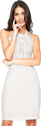 Yutz Vestido Yutz Curto Renda Branco