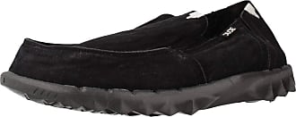 Mule Hey Dude Shoes Mens Farty Classic Jet Black Slip On