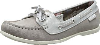 Dockers by Gerli Womens 36YA206-206200 Closed Toe Ballet Flats, Grey 200, 5.5 UK