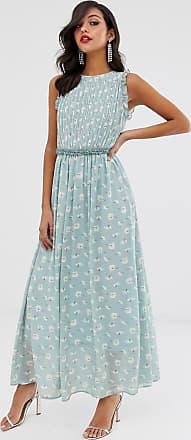 Unique21 Unique21 sleeveless maxi dress-Blue