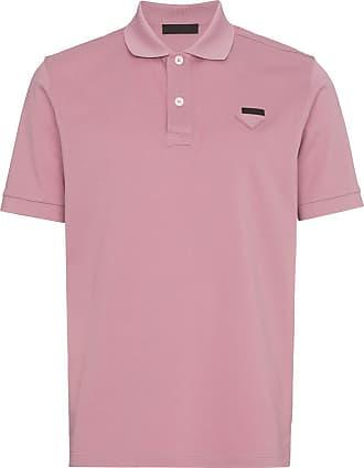 Prada Camisa polo slim - Rosa