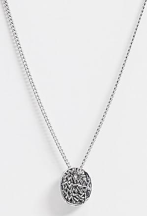 Icon Brand Catenina con ciondolo argento con simboli