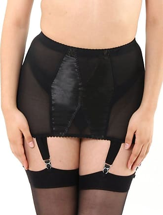 What Katie Did Glamour Black Girdle L3019 14 UK