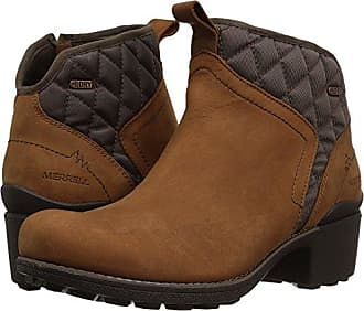 a4087c82a9f Merrell Womens Chateau Mid Pull Waterproof Snow Boot