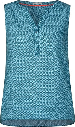 Cecil Blusentop mit Muster - cool lagoon blue