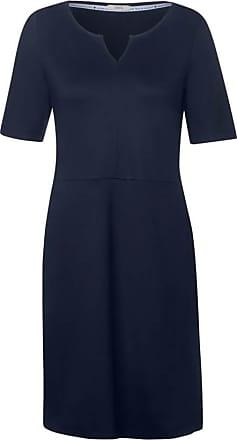 Cecil Jerseykleid mit Taschen - deep blue