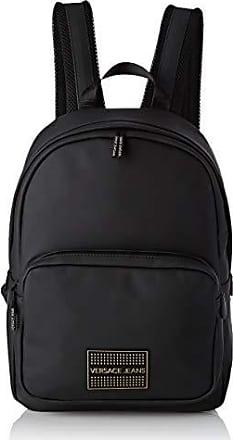 28a63e1132 Versace Jeans Couture Bag, Zaino Uomo, (Nero), 13,5x39x27,