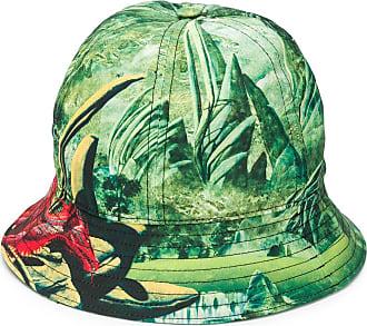 Valentino Garavani dragon print bucket hat - Green