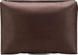 Troubadour Taschen Bolsa para notebook de couro - Marrom