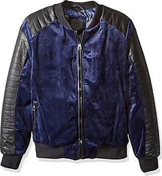 Urban Republic Mens Woven Velvet Jacket, Blue, S