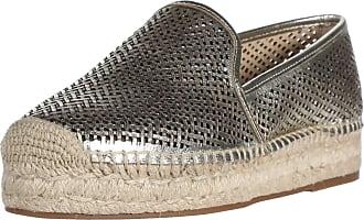 Vince Camuto Womens Hamorra Espadrille Wedge Sandal, Gold/Dark Natural, 7.5 UK