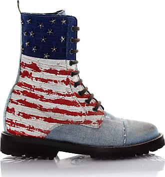 Philipp Plein Ankle Boots Blue