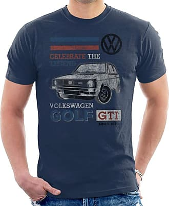 Volkswagen GTI Legend Mens T-Shirt Navy Blue