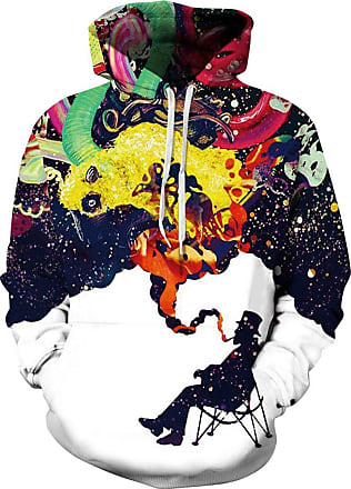 EUDOLAH 3D Prints Pullover Jumpers Breathable Hoodies Patterned Sweatshirts for Mens Size S M L XL 2XL 3XL (Tag S/M, 3049old Man)
