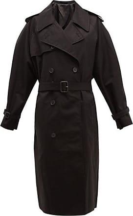 Wardrobe.NYC Wardrobe.nyc - Release 04 Double-breasted Gabardine Trench Coat - Womens - Black