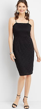 Maurices Black Lace Sheath Dress