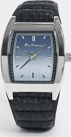 Ben Sherman square dial watch-Black