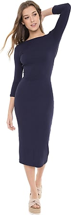 Dress To Vestido Dress to Midi Recorte Azul-marinho