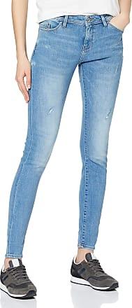 EDC by Esprit Womens 999cc1b819 Skinny Jeans, Blue (Blue Light Wash 903), W31/L32 (Size: 31/32)