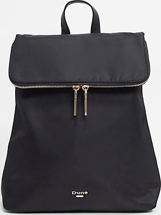 Dune London Donis Nylon Zip Backpack-Black
