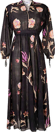 Nanushka floral print midi dress - Black