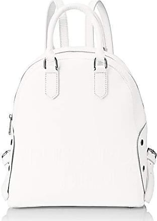 c581cff4b4 Trussardi Melly Backpack, Zaino Donna, Bianco, 26.5x30x11 cm (W x H
