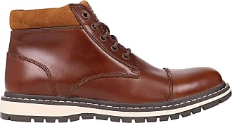 Firetrap Mens Aubin Boots Rugged Lace Up Comfortable Fit Textured Camel UK 9.5 (44)