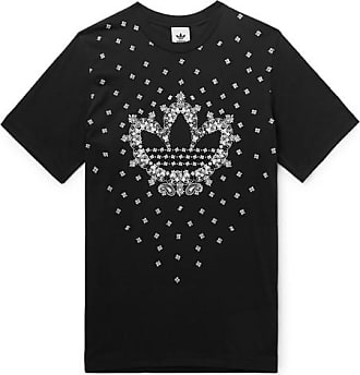 top design 5213e cdb29 adidas Originals Logo-print Cotton-jersey T-shirt - Black