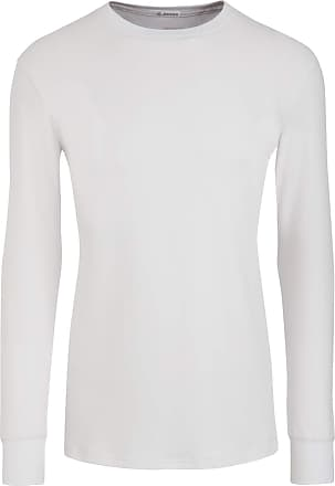 Jockey Modern Thermal Long Sleeve T-shirt, White, size M