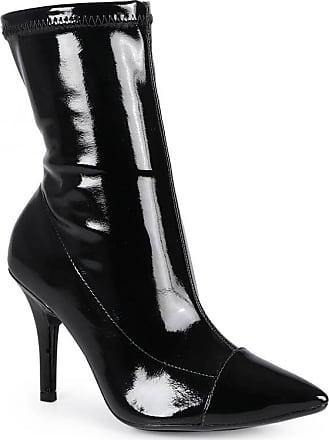 Vizzano Ankle Boots Feminina Vizzano Bico Fino