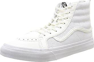 562529daca8268 Vans Unisex SK8-HI Slim Zip Low-top Weiß (perf Leather True