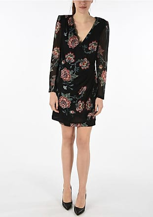 Pinko floral-print a-line dress size 40