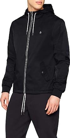 Original Penguin Mens Ratner Jacket, Black (True Black 010), (Size:XXL)