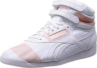 29c1ac37b1a Reebok Damen Freestyle Hi Spirit High-Top Weiß (White Wit) 38.5 EU