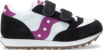 Saucony Jazz Original Vintage Hook & Loop Sneaker Big Kid 13.5 M UK White | Black | Berry