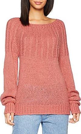 maglione dolcevita The Drop Amy aderente Marchio tessuto a costine