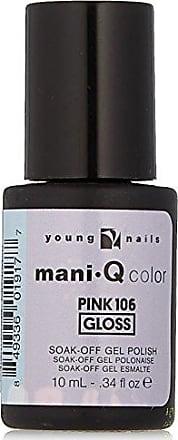 Young Nails Color Mani Q Nail Polish, Pink 106, 0.34 Fluid Ounce